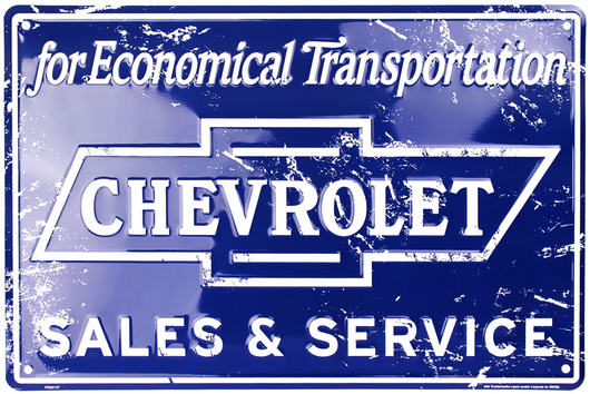 Sign - Chevrolet Sales & Service