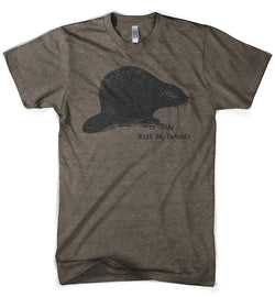 Mens Big Beaver - Triblend Brown