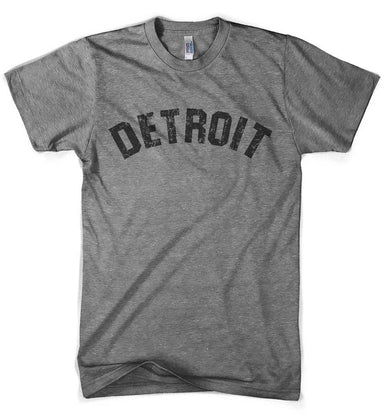 Mens Detroit Bend Triblend T-shirt (Grey) | Detroit Shirt Co.