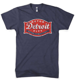 Mens Detroit Buckle - Navy