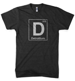 Mens Detroitium T-shirt (Heather Black) | Detroit Shirt Co.