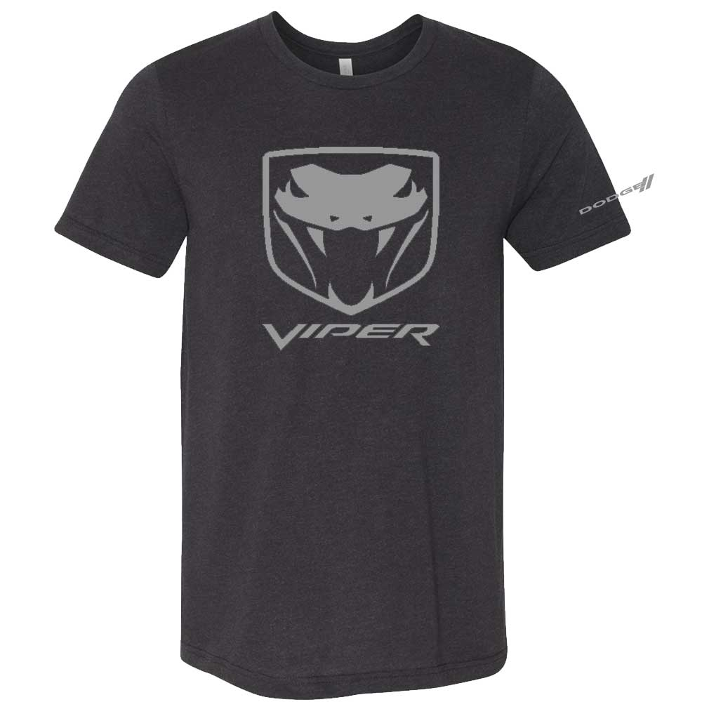 Mens Dodge Viper Fangs T-shirt (Black)