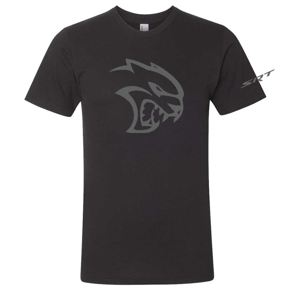 Mens Blackout Dodge SRT Hellcat T-shirt