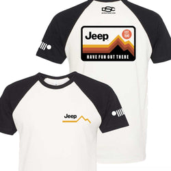 Mens Jeep® Have Fun Out There T-Shirt - Black / Natural