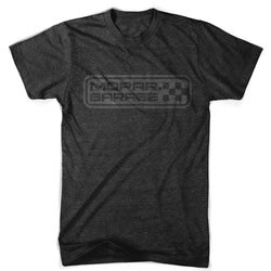 Mens Mopar Garage T-shirt (Heather Black) | Detroit Shirt Co.