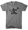 Mens Triblend Detroit Spirit 2 T-shirt (Grey) | Detroit Shirt Co.