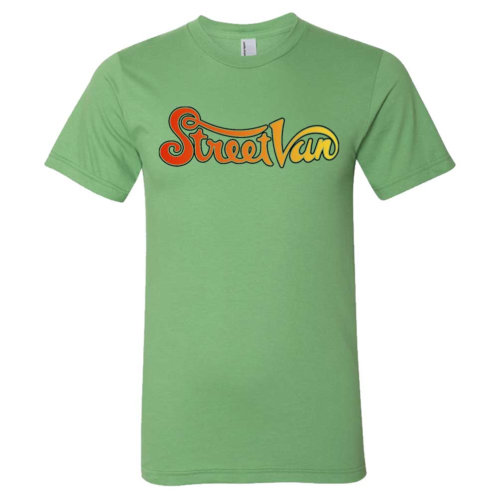 Mens Dodge Street Van T-shirt (Grass Green)