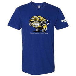 Mens Super Jeep® T-Shirt - Lapis Blue