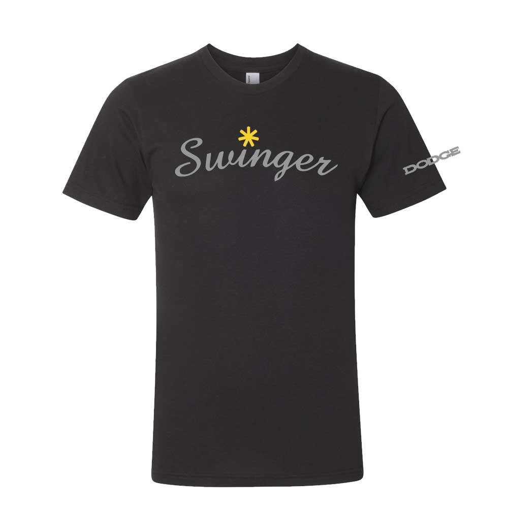 Mens Dodge Swinger T-shirt (Black)