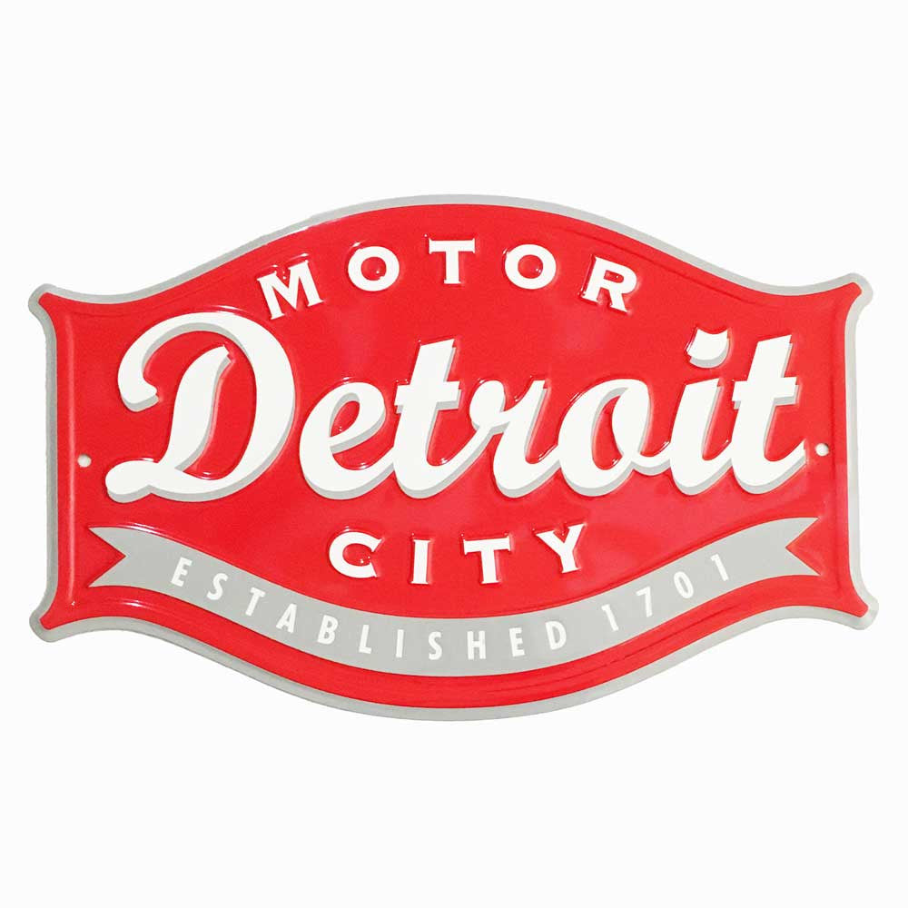 Sign - Detroit Buckle-Sign-Detroit Shirt Company
