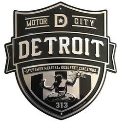 Sign - Detroit Shield