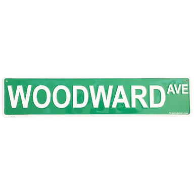Sign - Woodward Ave-Sign-Detroit Shirt Company