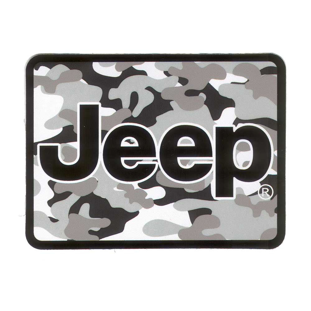 Sticker - Jeep® Camo