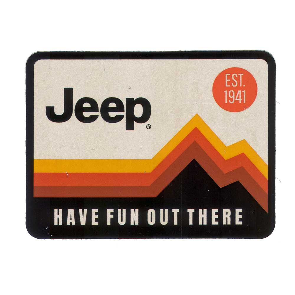 Sticker - Jeep® Have Fun Out There
