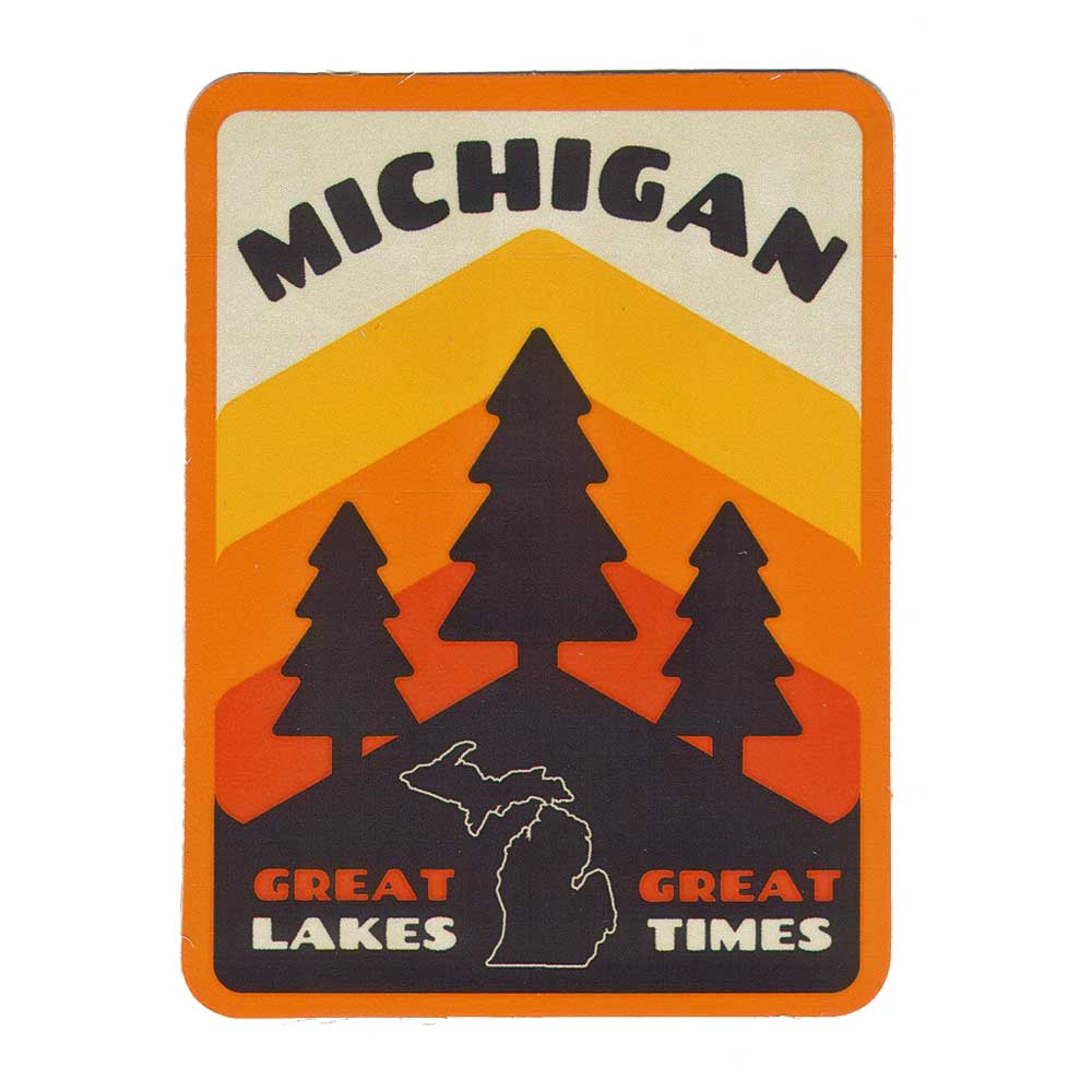 Sticker - Michigan Pines