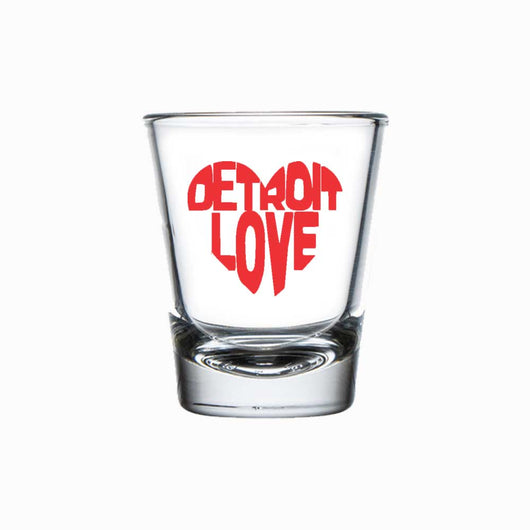 Shot Glass - Detroit Love