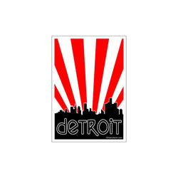 Sticker - Detroit Burst