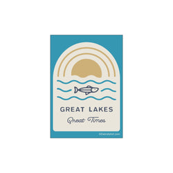 Sticker - Michigan Great Lakes Great Times