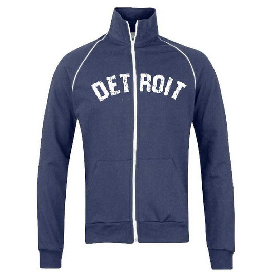 Fleece - Detroit Bend Track Jacket - Navy