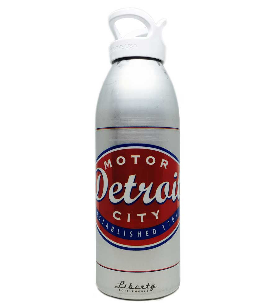 Water Bottle - Buckle 32oz-Glassware-Detroit Shirt Company