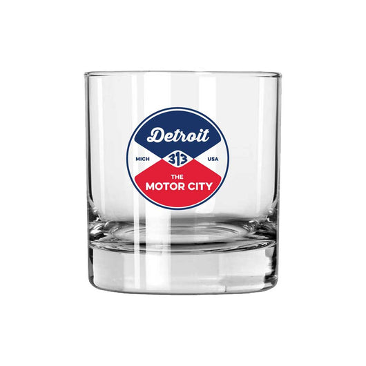 Whiskey Rocks Glass - Detroit Reel