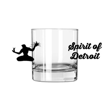 Whiskey Glass - Spirit of Detroit-Glassware-Detroit Shirt Company