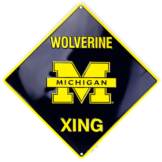 Sign - Michigan Wolverine XING