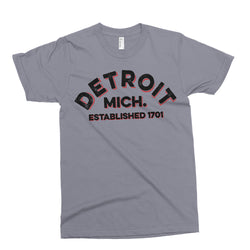 Youth - Detroit Arch - Asphalt-Youth-Detroit Shirt Company