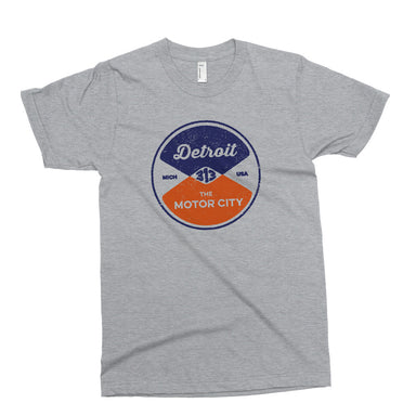 Youth - Detroit Reel - Sport Grey-Youth-Detroit Shirt Company