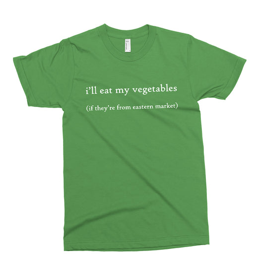 Youth - I'll Eat My Veggies if they are from Eastern Market T-shirt