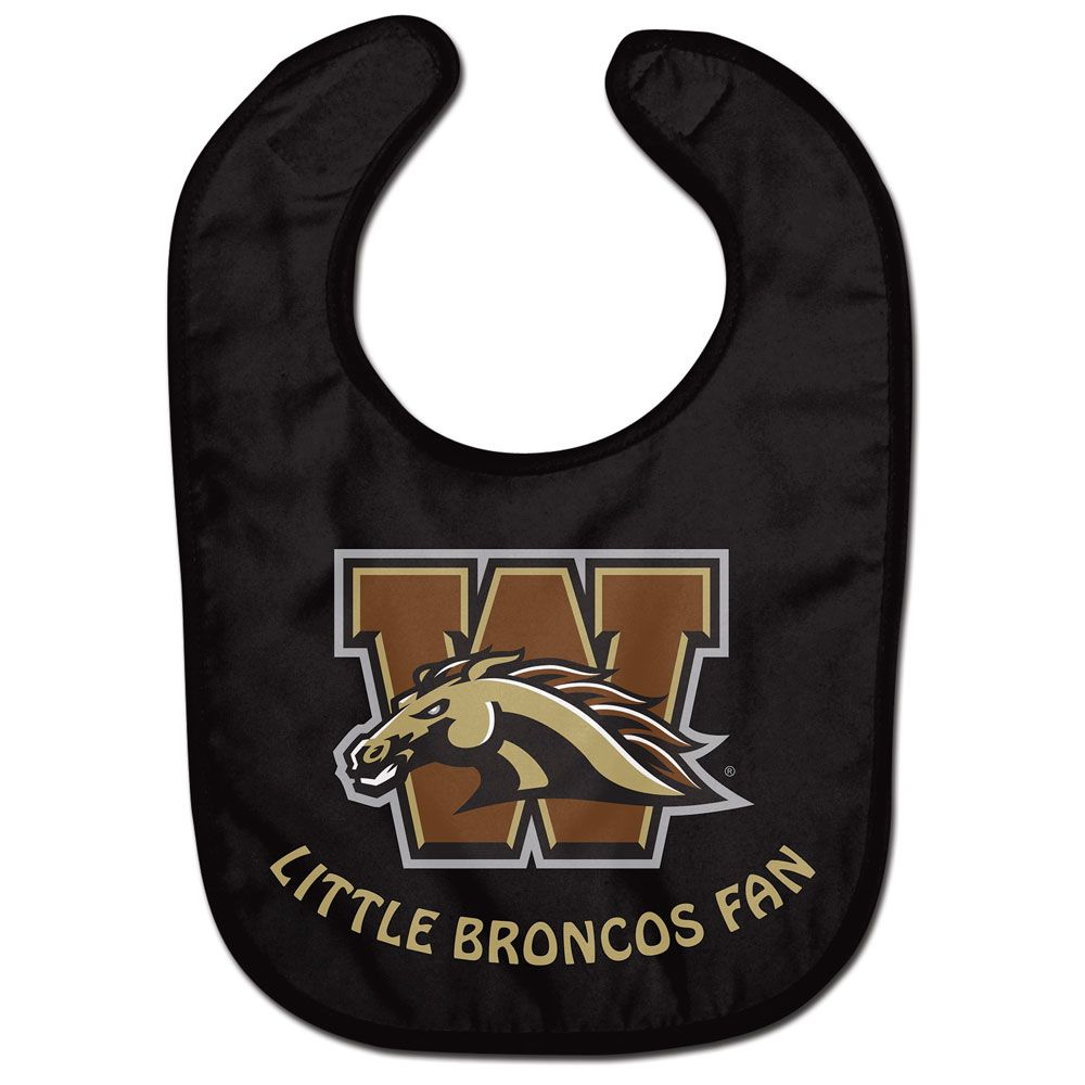 Western Michigan - Baby Bib Little Broncos Fan
