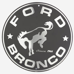 Sign - Ford Bronco Circle