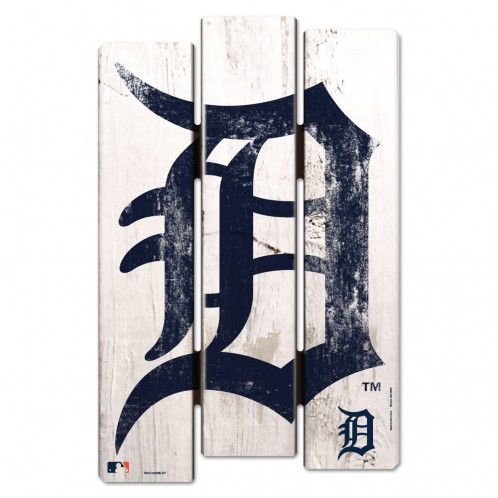 Detroit Tigers - Wood Fence Sign