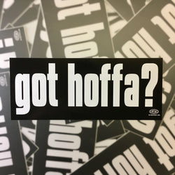 Sticker - Got Hoffa?-Sticker-Detroit Shirt Company
