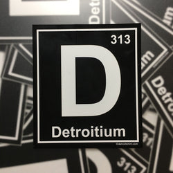 Sticker - Detroitium-Sticker-Detroit Shirt Company