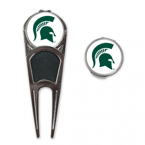 Michigan State Spartans - Golf Mark, Divot Tool and Clip