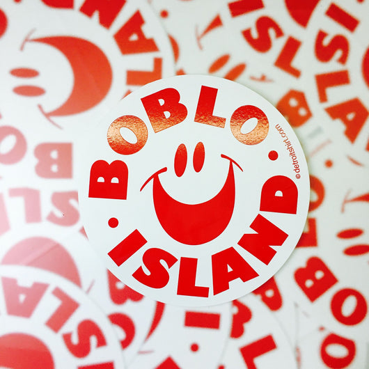 Sticker - Boblo Island Circle-Sticker-Detroit Shirt Company