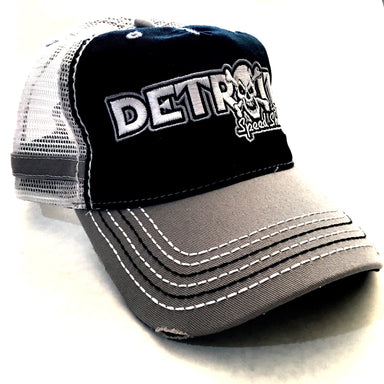 Hat - Detroit Speed Shop Bones Trucker-Hats-Detroit Shirt Company