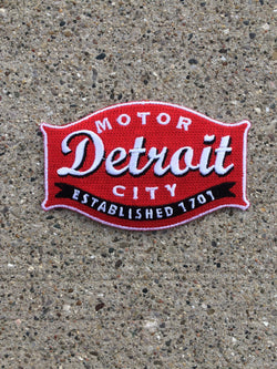 Patch - Detroit Buckle-Patches-Detroit Shirt Company