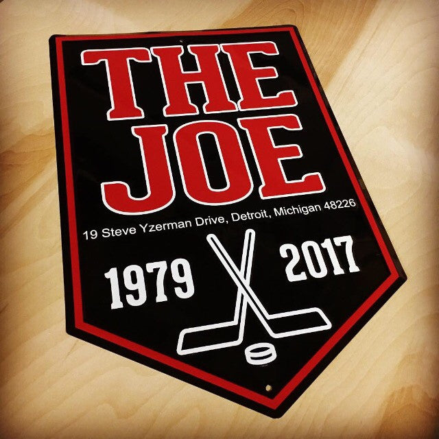 Sign - The Joe Banner-Sign-Detroit Shirt Company