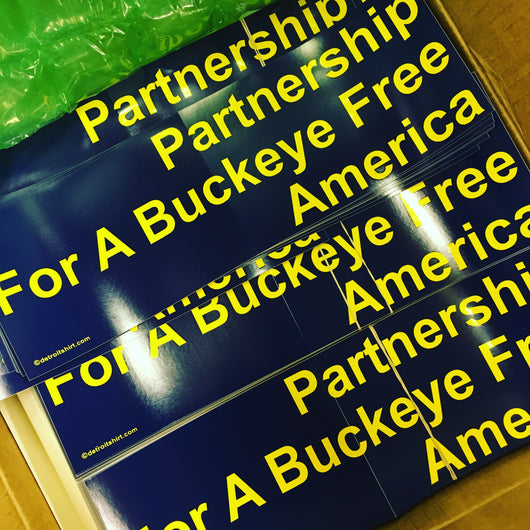 Sticker - Partnership For A Buckeye Free America