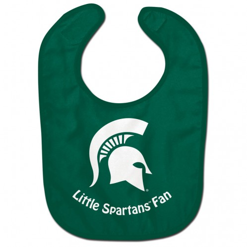 Michigan State - Baby Bib Little Spartans Fan