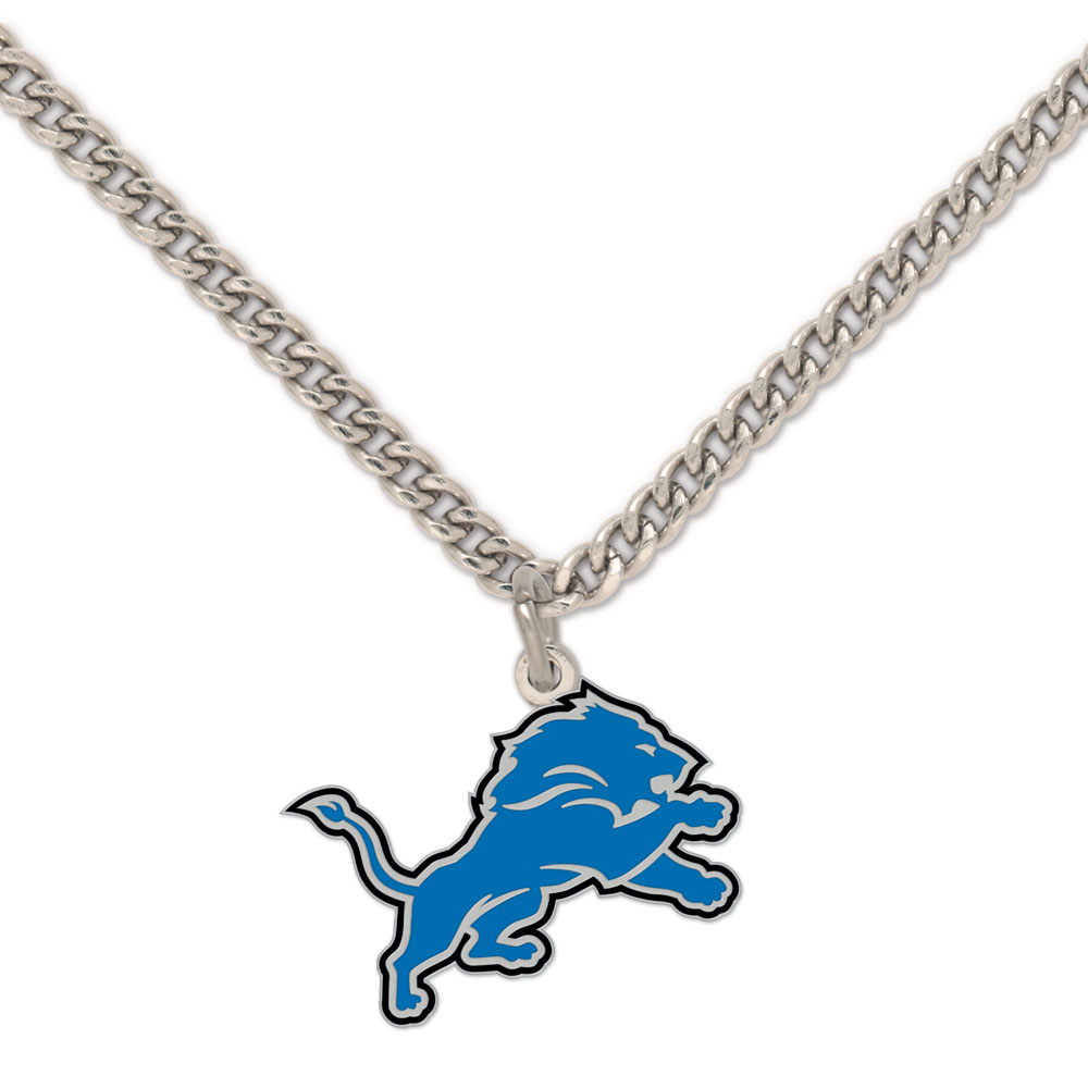 Detroit Lions - Necklace with charm