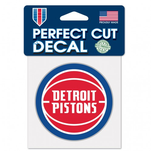 "Detroit Pistons - 4"" Decal"