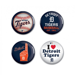 Detroit Tigers - 4 button pack