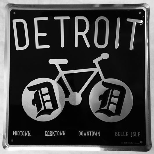 Sign - Detroit Bike-Sign-Detroit Shirt Company