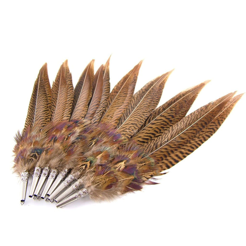 Feather Hat Pin  -   Pheasant Feathers