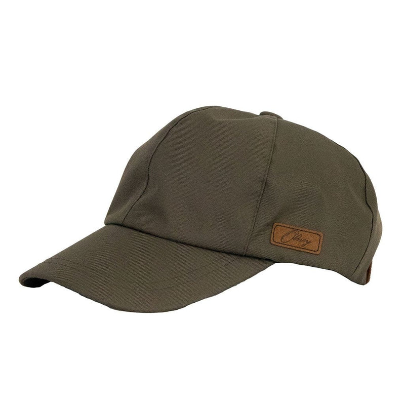 olney-headwear-dee-olive-sports-cap-side-view-with-olney-label