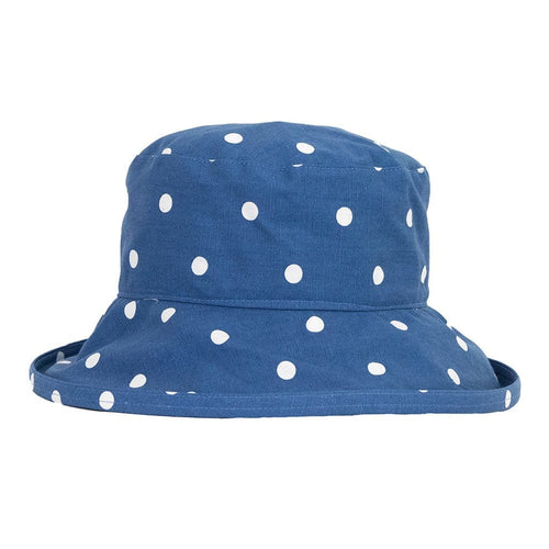 peak-and-brim-denim-blue-with-white-spots-sun-hat