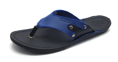 Smooth blue - D'jeeshoes.com